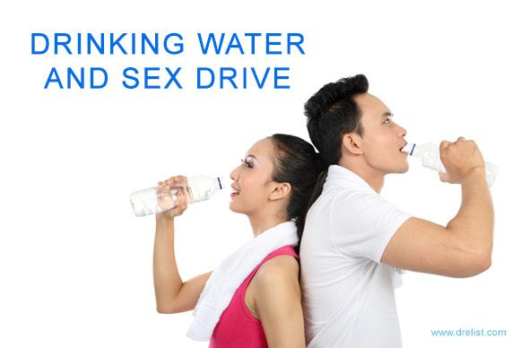 Sexual benefits of drinking water