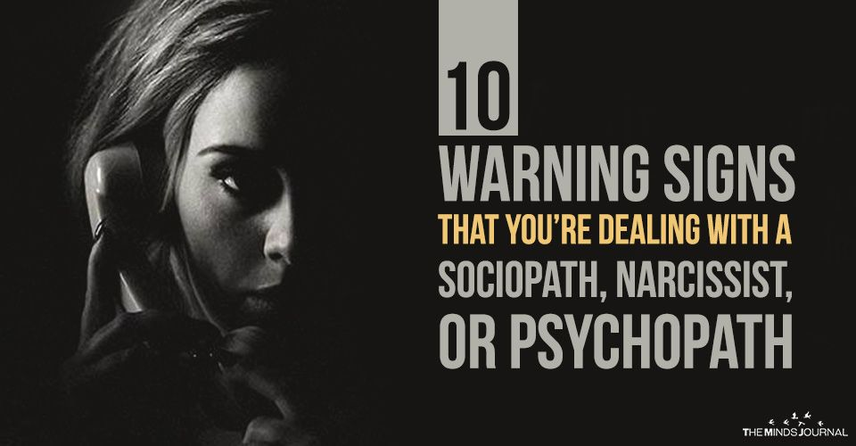 10 Warning Signs That You're Dealing With a Sociopath