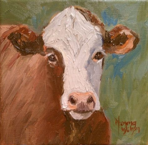 cows come homeartist norma wilson on dailypainters