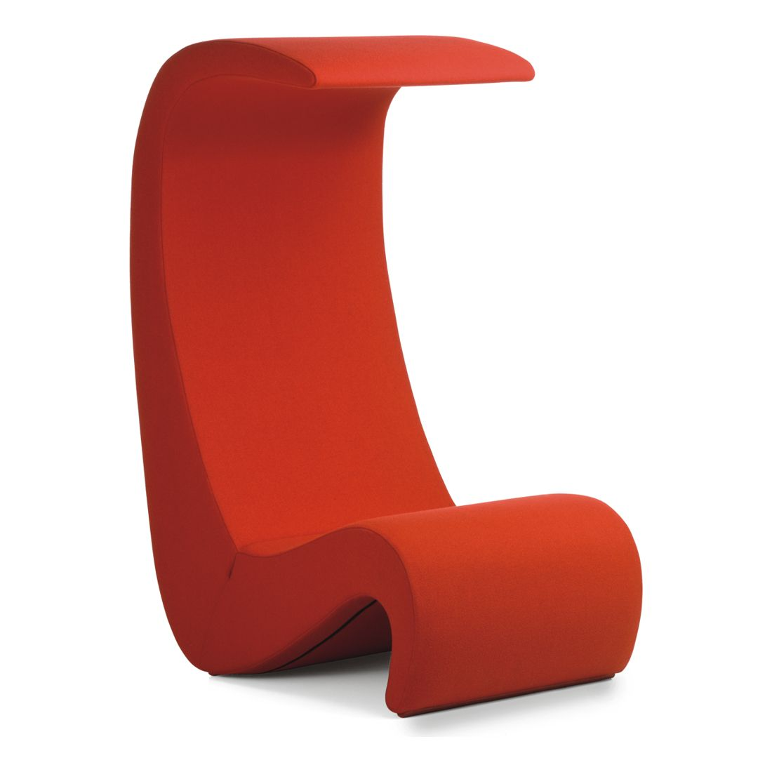 amoebe highback verner panton stuhl chair vitra tonus red rot m belprojekt pinterest. Black Bedroom Furniture Sets. Home Design Ideas