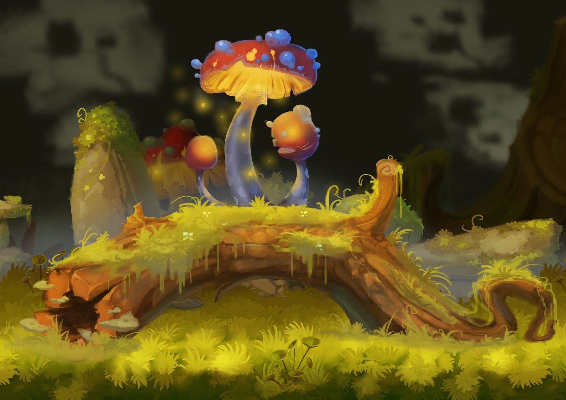 Forest assets 1 by Antoine LatailleA first pick of my