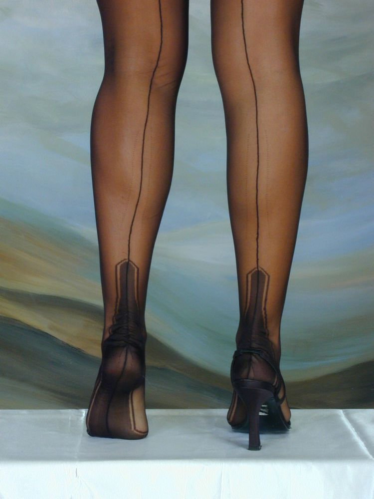 0aa078811 ELEGANTI FULLY FASHIONED STOCKINGS MANHATTAN HEEL VARIOUS COLOURS  IMPERFECTS  Eleganti  Stockings
