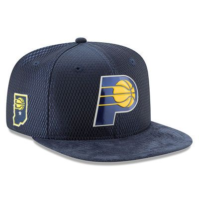 Men's Indiana Pacers New Era Navy 2017 NBA Draft Official On Court  Collection 9FIFTY Snapback Hat