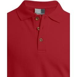 Photo of Polo sweatshirt men, red Promodoro