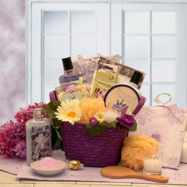 Home Spa Gift Ideas: The Healing Spa Gift Basket