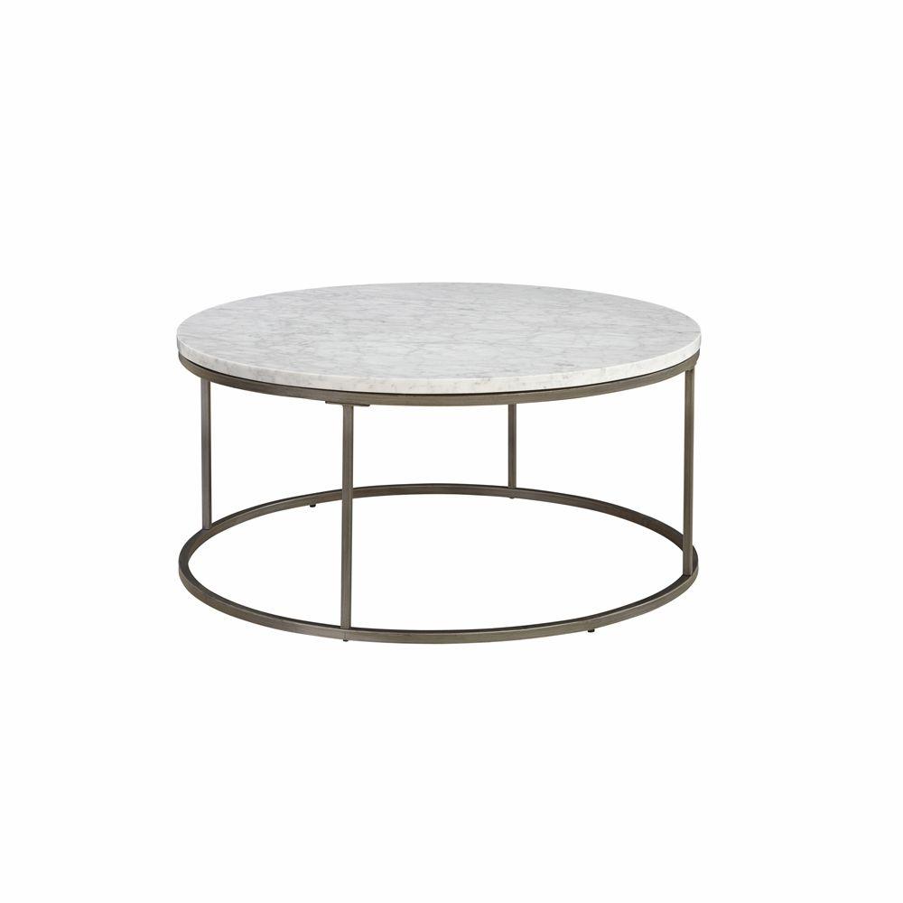 Casana Alana Round Coffee Table With White Marble Top 836 075 Mbw 075 [ 1000 x 1000 Pixel ]