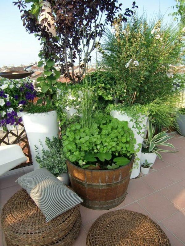 Grüne Dachterrasse dachterrasse gestalten ihre grüne oase im außenbereich balconies