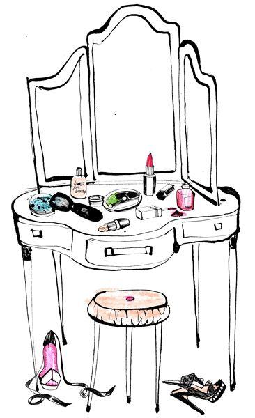 clip art makeup vanity  u2013 cliparts