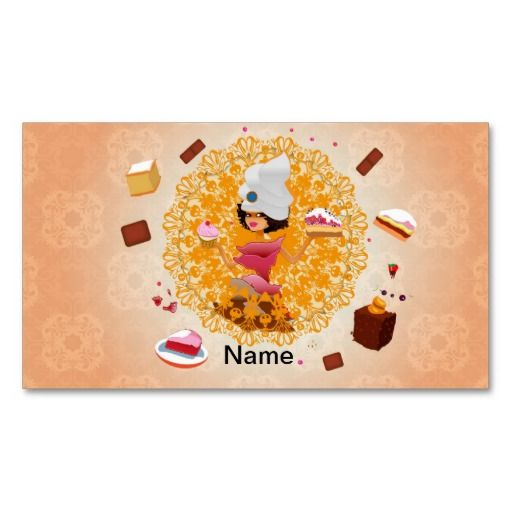 Candy Business Card Template Business Cards Bakery Pinterest - baker pastry chef sample resume
