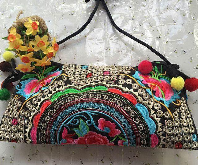 Embroidered Handmade Purses Handbags Unique Gift Ideas Women
