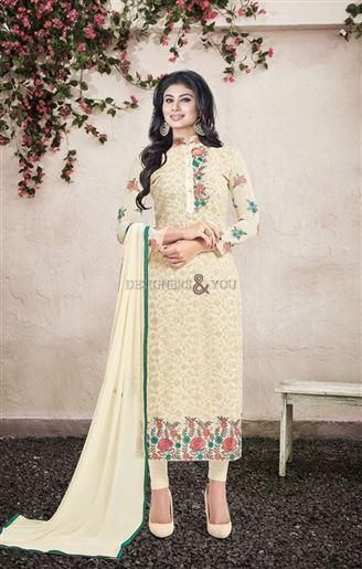 Beautiful pakistani salwar suit design with parallel shape kameez Visit: http://www.designersandyou.com/dresses/bollywood-dresses #IndianStyle #DesignerWear #DesignerCollection #Bollywood  #PartyDress #Embroidered #BestCollection #DesignerDress #Fancy #FashionGram #Beautiful