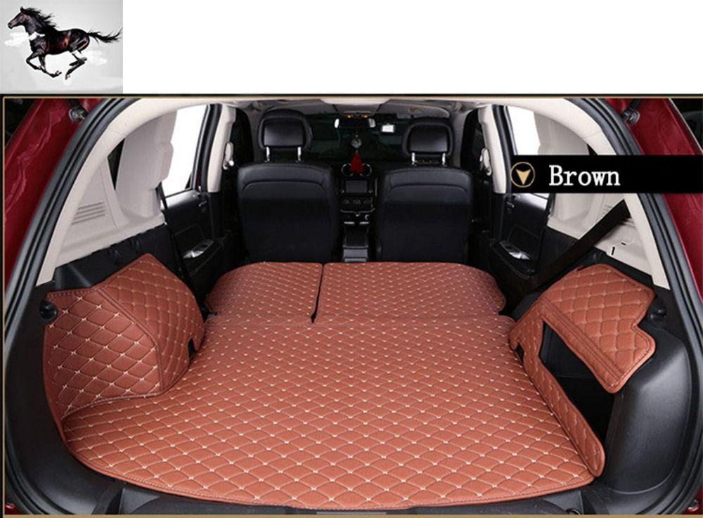Topmats Best Newest Floor Mats For Jeep Grand Cherokee 2011 2017 Trunk Protector Cargo Liner Set Trunk Mat Cargo Liner Audi Q7 Boot Liners