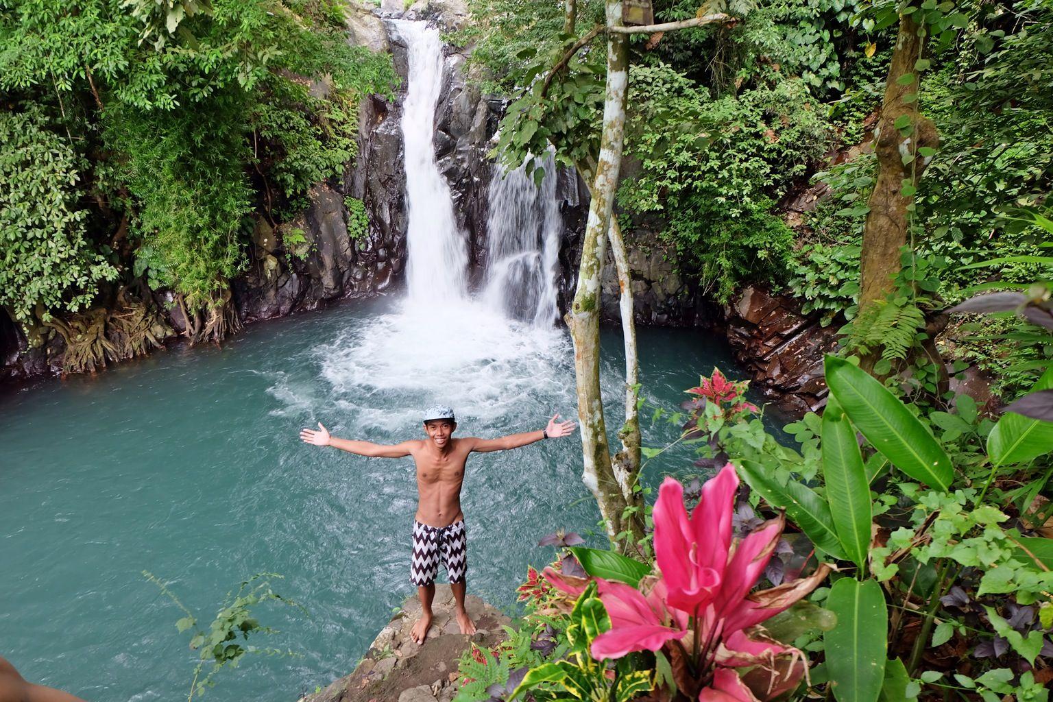 Secret garden Waterfall Bali Indonesia Garden