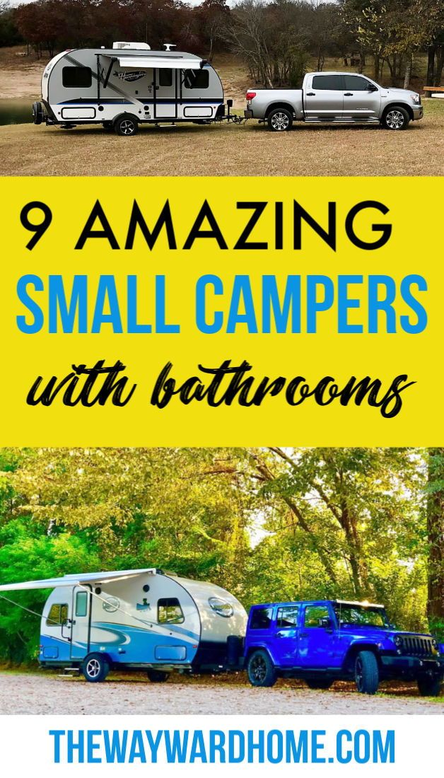 Photo of 8 Ultra Cute Small Camping Trailers with Bathooms