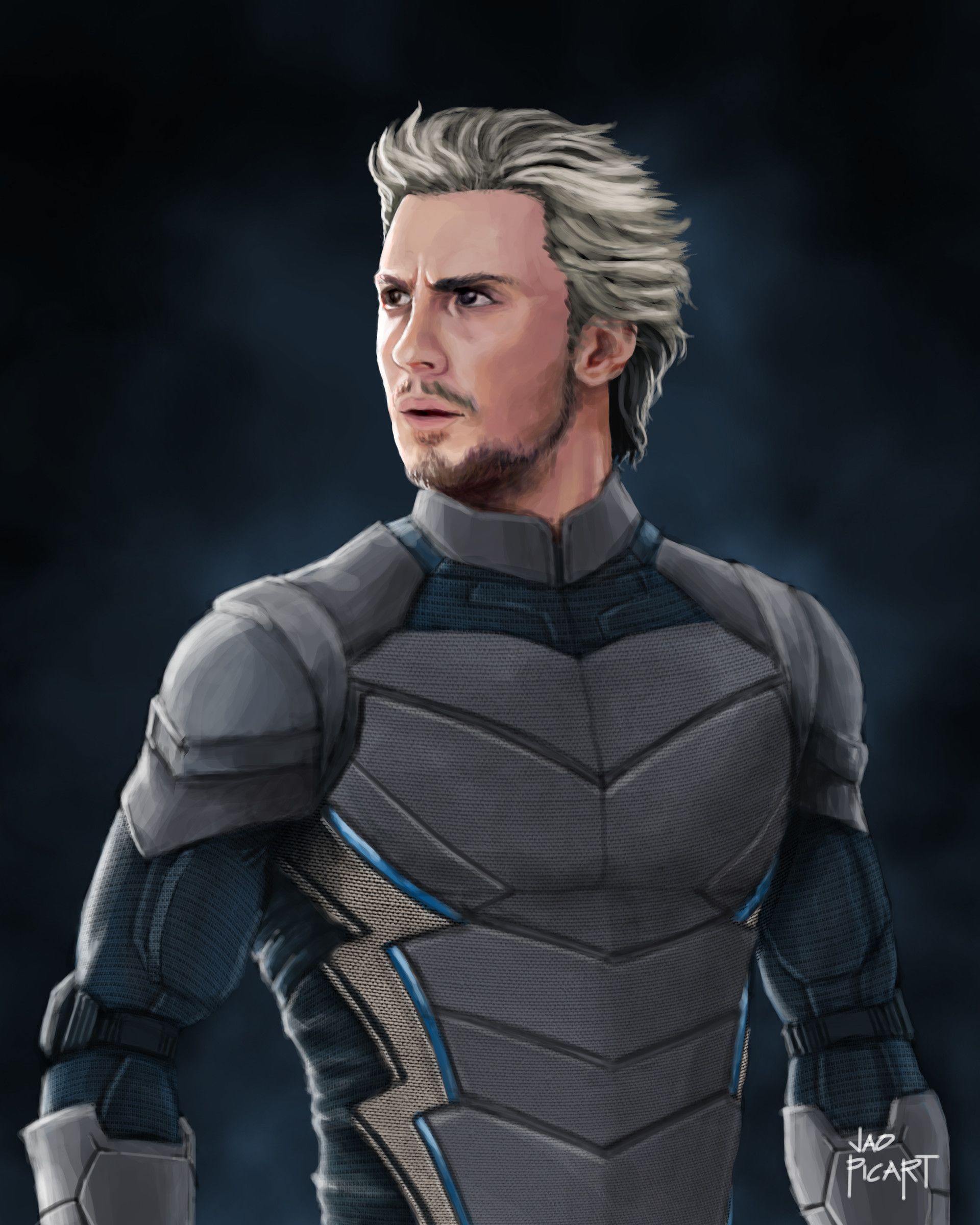 ArtStation , Quicksilver redesign, Jao Picart