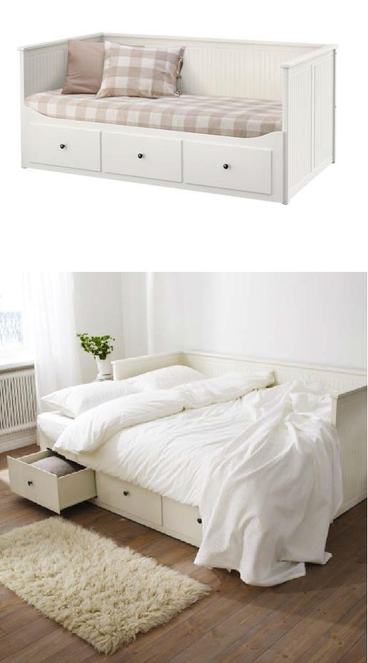Thats Why I Designed Hemnes Daybed To Fulfill Four Functions A Single Bed Bed For Two Sofa And Storage