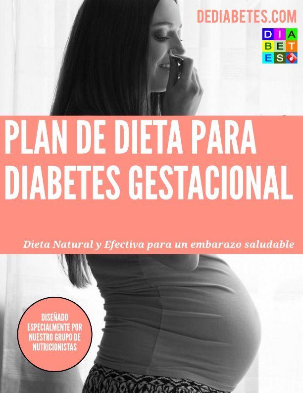 Dieta para la diabetes en el embarazo