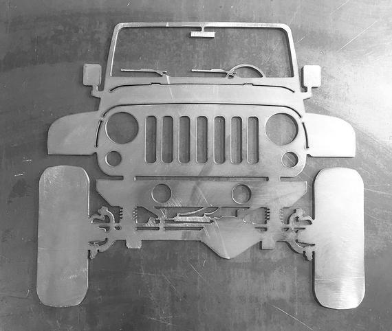 Lifted Dana 60 Jeep Wrangler Jk Ornamental Profile Jeep