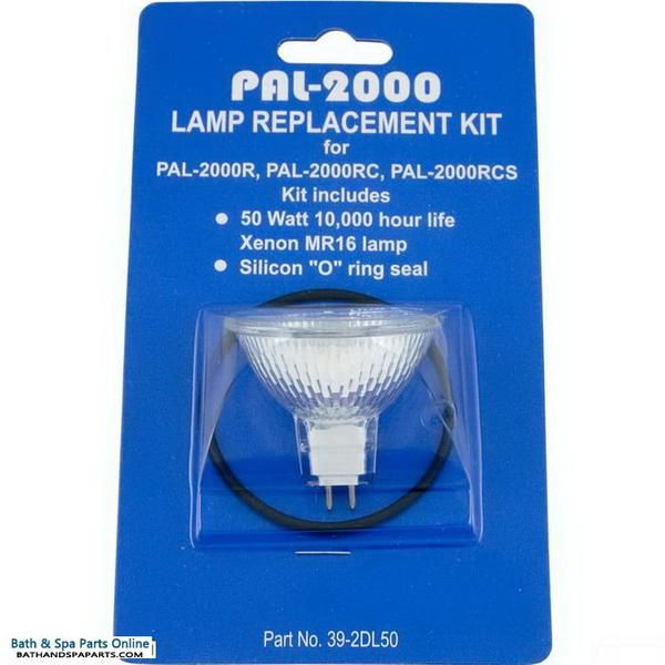 Pal Lighting Pal 2000 Replacement Bulb Kit 12v 50w Xenon 39 2dl50 Bulb Spa Parts Replacement