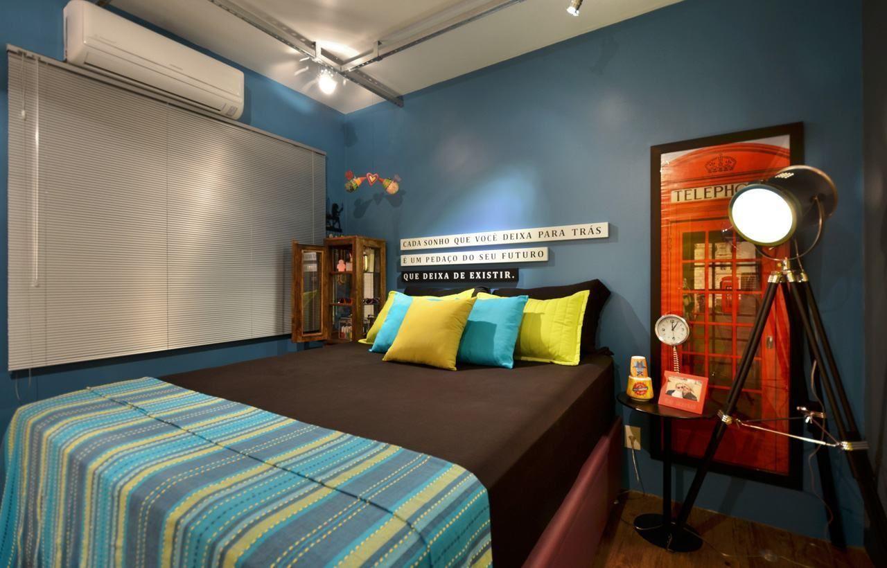 Quarto Colorido 60 Fotos E Inspira Es Incr Veis Boys Bedroom  ~ Quadros Parede Quarto Com Quarto Americano Casal