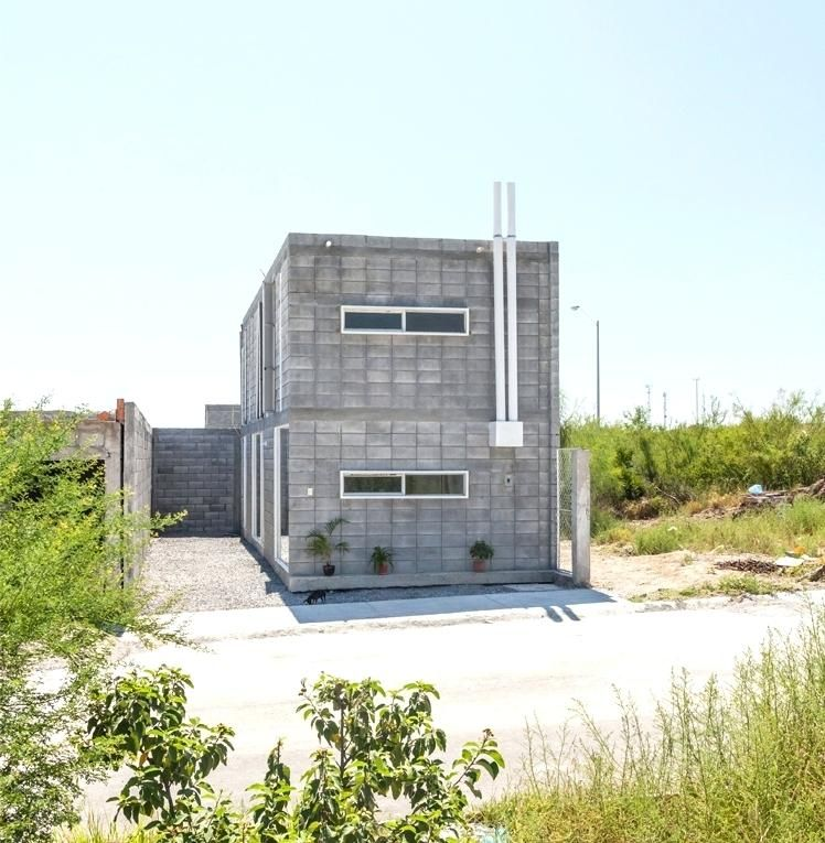 Small Concrete Home Plans Modern Concrete Block House Low Budget With Regard To Cinder Block House Plans Cinder Block House Concrete Blocks Concrete House