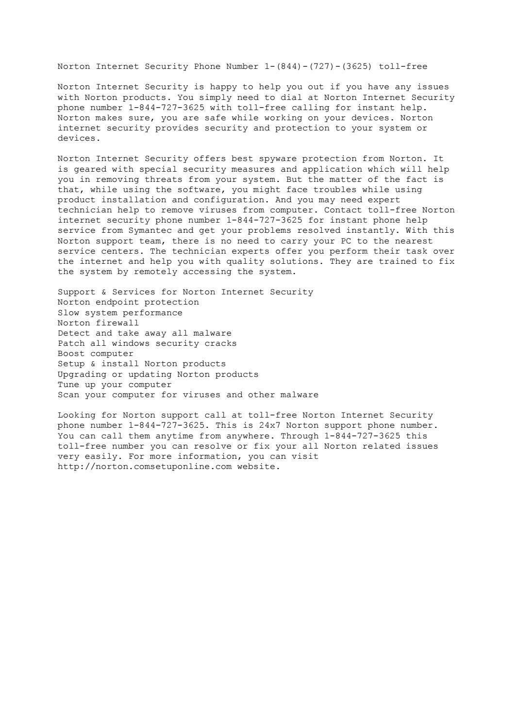 Windows Installer Repair Norton Internet Security