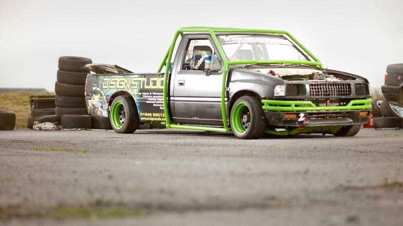 drift truck rodeo trucks drift truck mini trucks. Black Bedroom Furniture Sets. Home Design Ideas