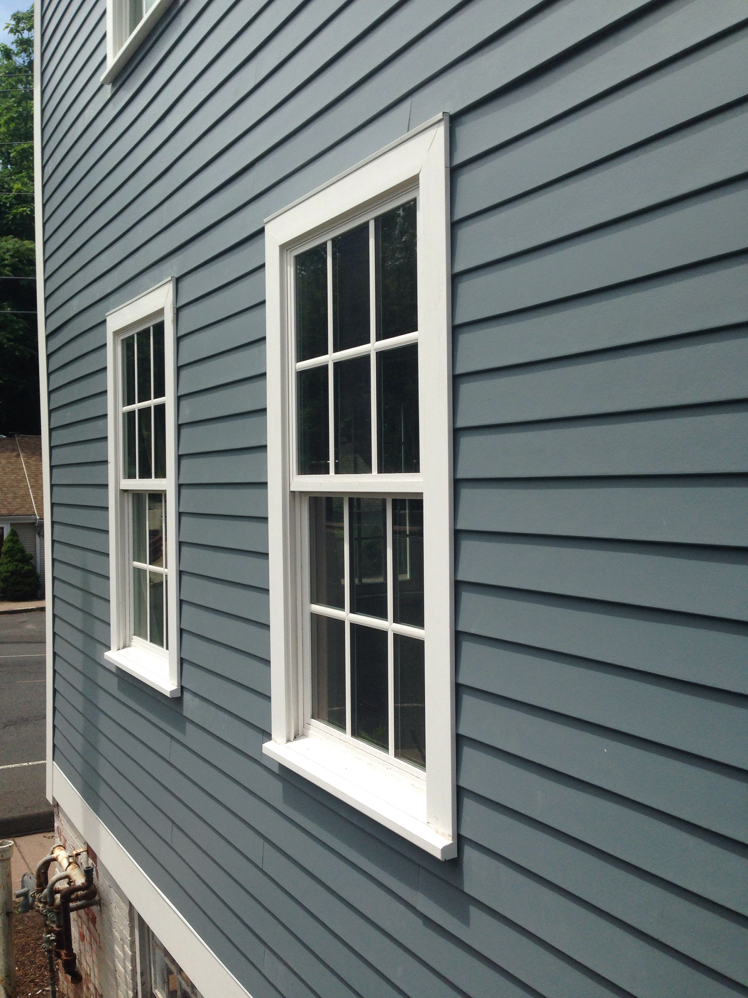 Boothbay Blue James Hardie Apex Pvc Trim White Fixin