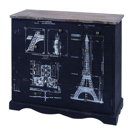 I Pinned This Eiffel Chest From The Woodland Imports Event At Joss And Main!