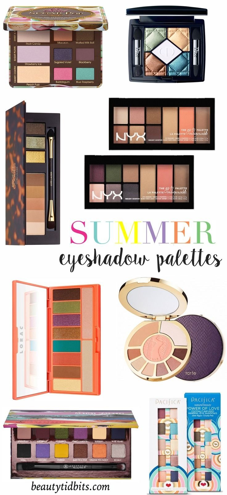 Shades Of Summer Best Eyeshadow Palettes To Take You From Day To