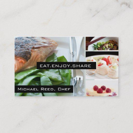 Private Chef Services Catering Business Card Zazzle Com Catering Business Cards Catering Business Catering