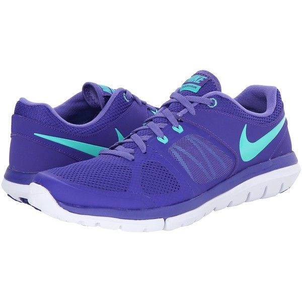 Nike Flex 2014 Run Women's Running Shoes, Purple ($56) ❤ liked on Polyvore
