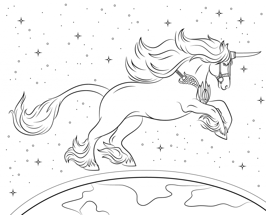 Unicorn Coloring Pages For Adults Best Coloring Pages For Kids Unicorn Coloring Pages Horse Coloring Pages Cartoon Coloring Pages