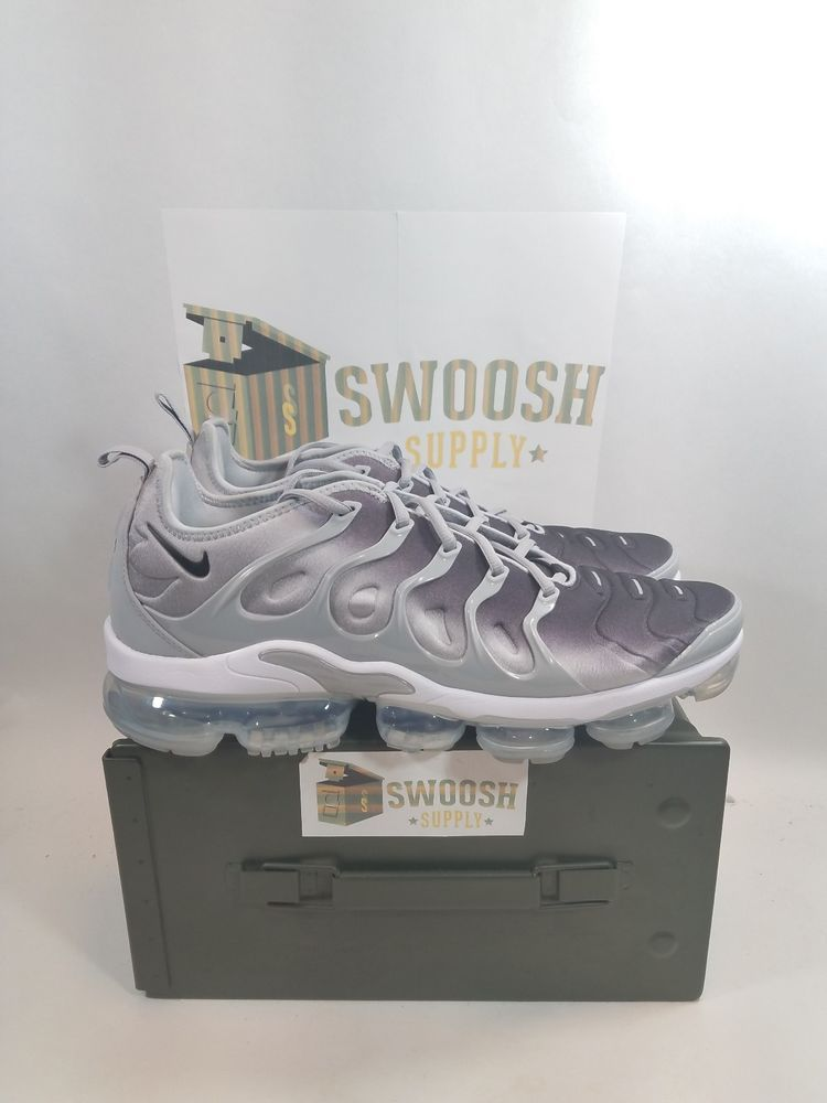 d8d29f0259ee Nike Air VaporMax Plus 924453-007 Silver Gradient Wolf Grey Brand New Size  9  Nike  CrossTrainingShoes