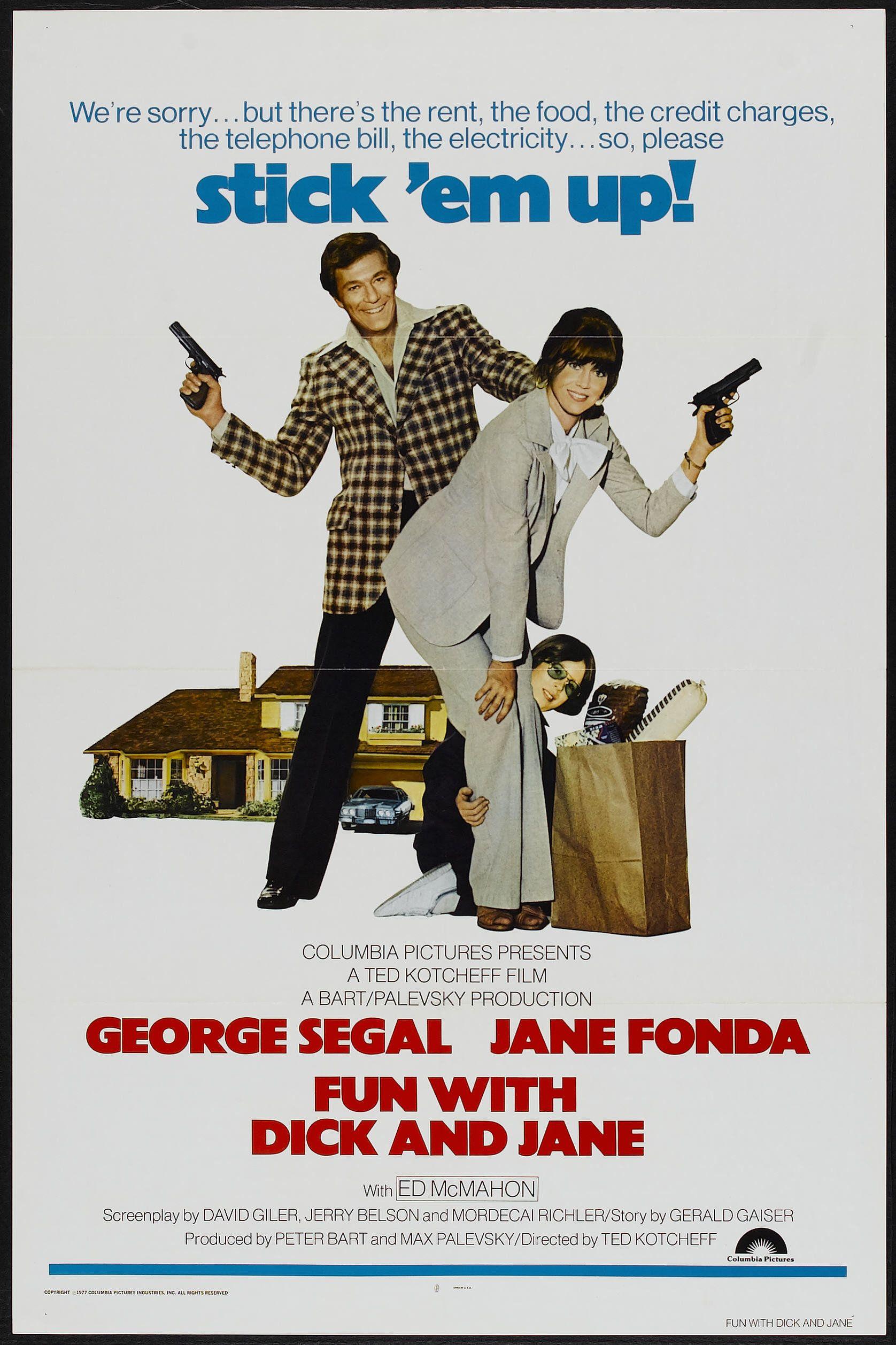 Fun With Dick And Jane 1977 Stars Jane Fonda George Segal Ed Mcmahon Richard Gautier John Dehner Sean Frye Director Ted Kotcheff