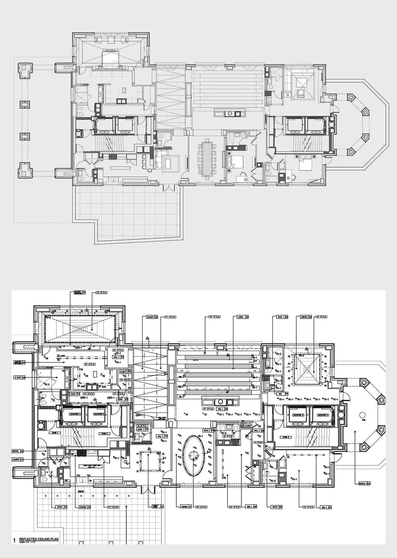 15 Central Park West Ph Jcm Design Build Floor Plans City Living Apartment House Floor Plans