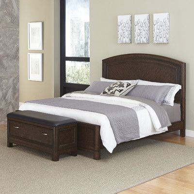 Crescent Hill Panel 2 Piece Bedroom Set Size: King - http://delanico.com/bedroom-sets/crescent-hill-panel-2-piece-bedroom-set-size-king-547886624/