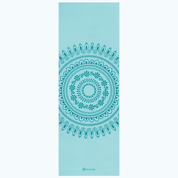 Premium Marrakesh Yoga Mat 6mm In 2020 Gaiam Yoga Mat Print Yoga Mat Gaiam Yoga