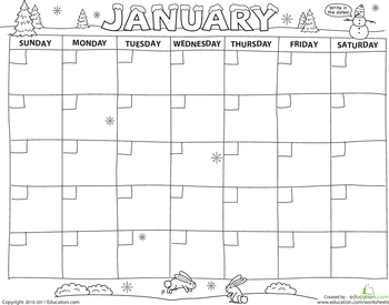 Create A Calendar  Calendar Activities Calendar Printable And Count