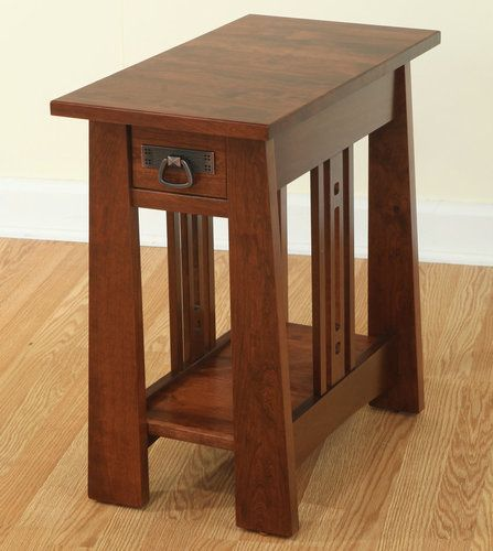 Aspen Space Saver End Table 54 1324 Hw Craftsman