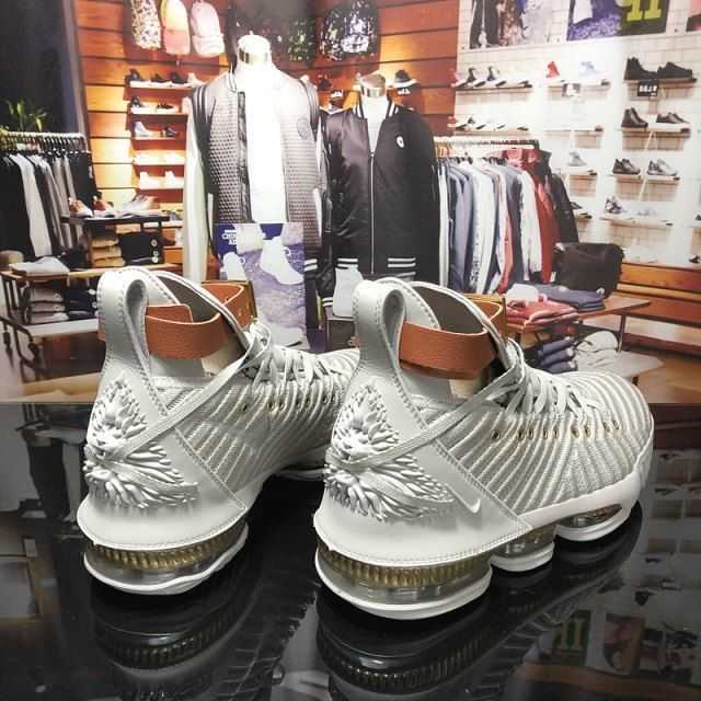 f6e21d49969 Nike LeBron 16 Men s Basketball Shoes Rice White Gold  fashion  clothing   shoes  accessories  mensshoes  athleticshoes (ebay link)