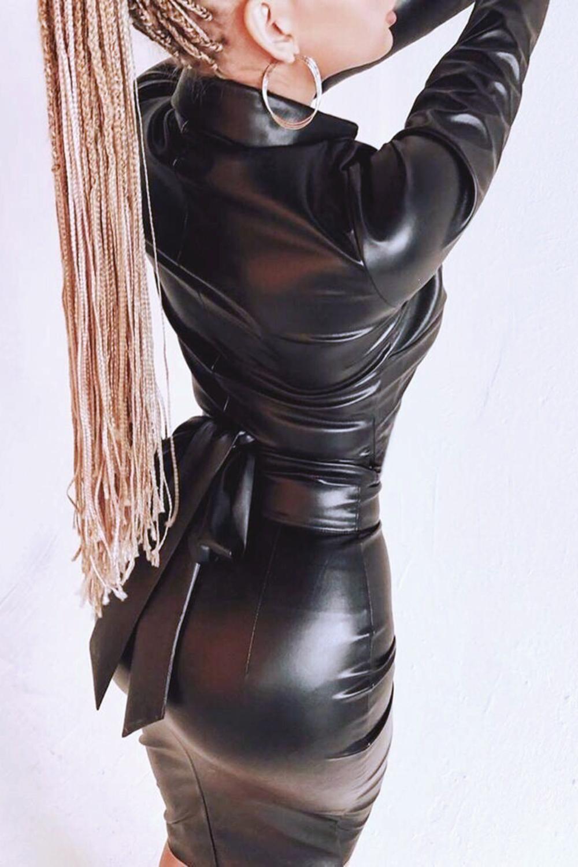 Oversize Dress Slim Fit Dress Bodycon Dress Fitted Dress Plus Size Dress Short Black Dress Jersey Dress Long Sleeve Dress