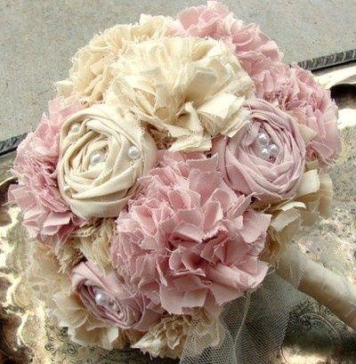 creation de fleurs en tissu