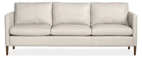 Fine Kent 85 Sofa In Bison White Leather Sofas Living Forskolin Free Trial Chair Design Images Forskolin Free Trialorg