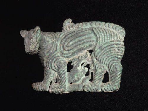 Plaque Xiongnu, 6th-3rd century BC The British Museum
