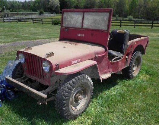 Automobile Jeep Willey By Overaland Motors Inc Toledo Oh