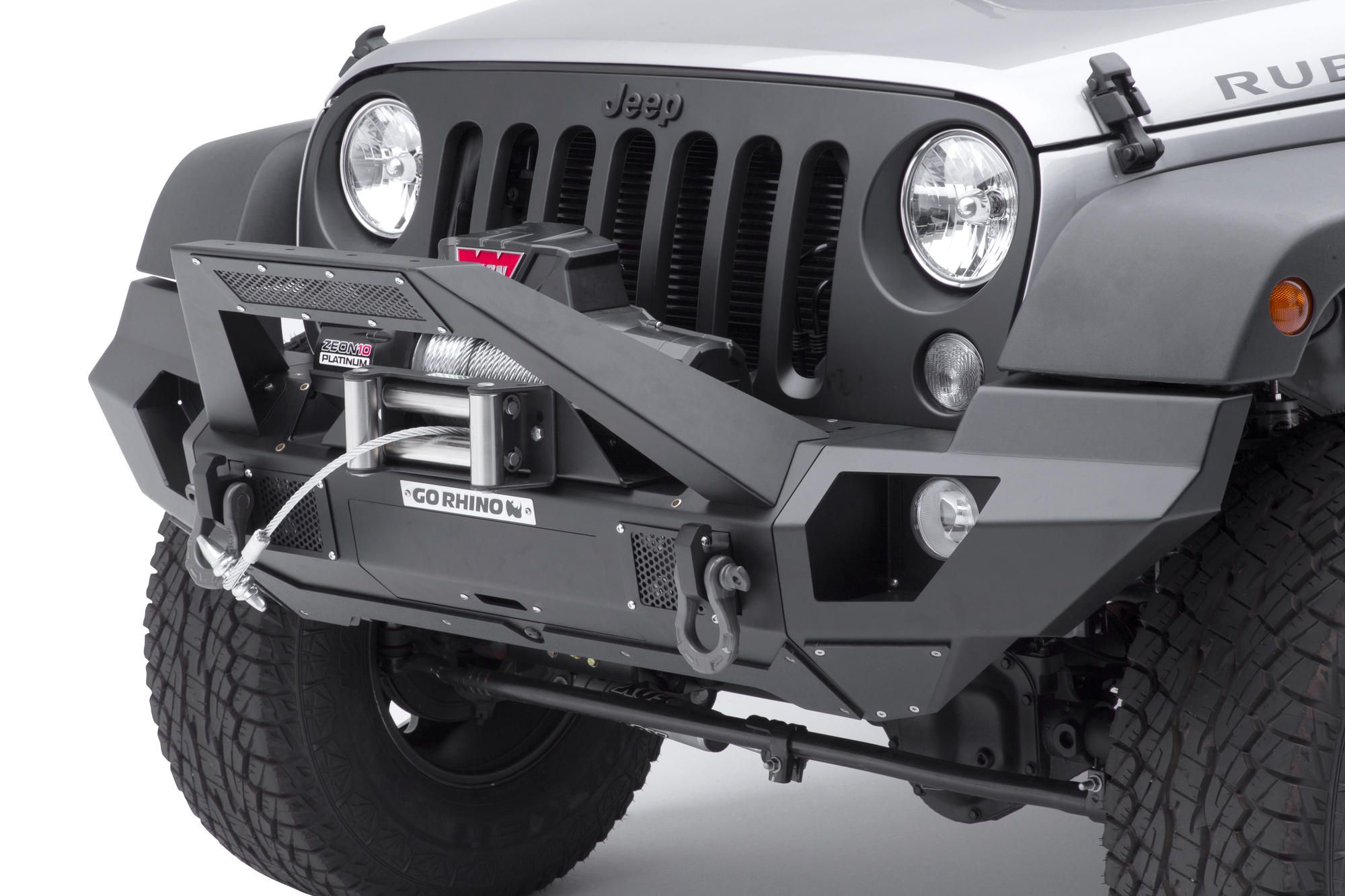 The Go Rhino Brj40 Front Bumper Is The Ultimate Modular Bumper For