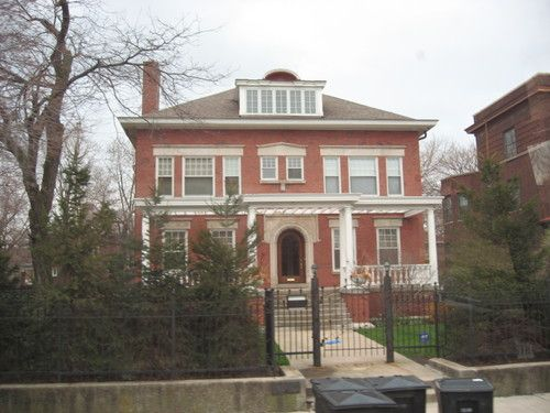 Barack Obama S House Chicago Obama House Historic Homes Celebrity Houses
