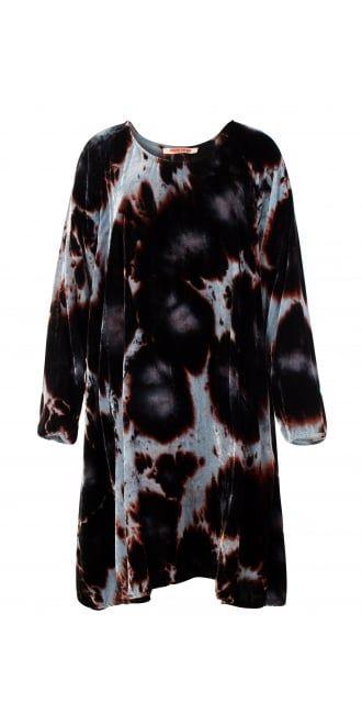 c938ad0c4179 Privatsachen Hand Coloured Silk Velvet Tunic