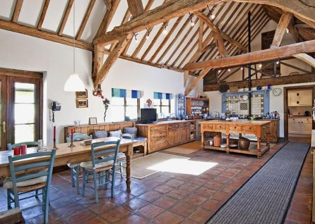 Barn Conversion Kitchens property abroad! | future plans | pinterest | barn, open plan and
